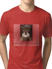 Toilets of New York 2015 December - The Wellington Tri-blend T-Shirt