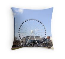 I.C.C. & Hyatt Birmingham Throw Pillow