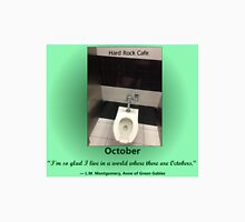 Toilets of New York 2015 October - Hard Rock Cafe Unisex T-Shirt