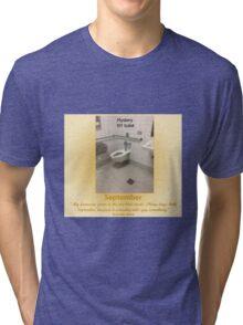 Toilets of New York 2015 September - Mystery Tri-blend T-Shirt
