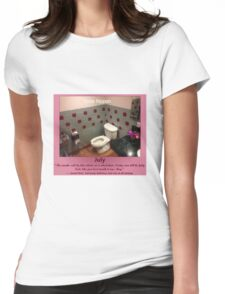 Toilets of New York 2015 July - Soba Nippon Womens Fitted T-Shirt