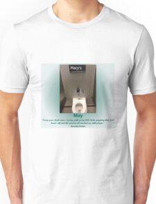 Toilets of New York 2015 May - Macy's Unisex T-Shirt