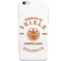Agents of S.H.I.E.L.D. Consultant iPhone Case/Skin