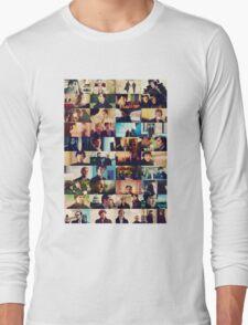 sherlock bbc caps Long Sleeve T-Shirt