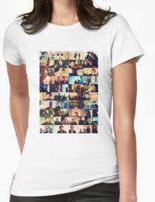 sherlock bbc caps Womens Fitted T-Shirt