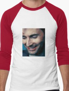 smiling tennant ヾ(。◕ฺ∀◕ฺ)ノ Men's Baseball ¾ T-Shirt
