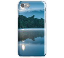 Carolina Blue Moon Reflections iPhone Case/Skin