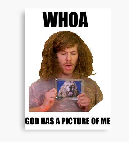 Workaholics blake dog picture Canvas Print