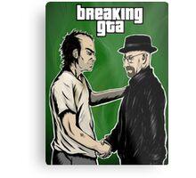 Breaking GTA Metal Print