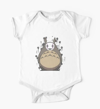 Totoro No Face One Piece - Short Sleeve