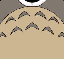 Totoro No Face Sticker