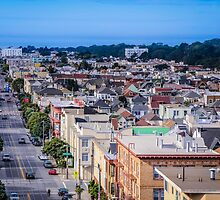 San Francisco Street View by Nicole Petegorsky