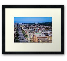 San Francisco Street View Framed Print