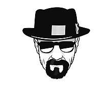 Breaking Bad - Heisenberg Photographic Print