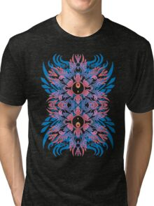yingyang totem Tri-blend T-Shirt
