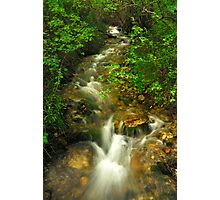 Mountain Ribbon Photographic Print
