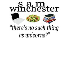 sam winchester - no such thing as unicorns by crowleying