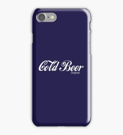 Cold Beer iPhone Case/Skin