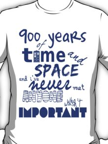 doctor who - 900 years of time and space T-Shirt