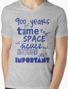 doctor who - 900 years of time and space Mens V-Neck T-Shirt