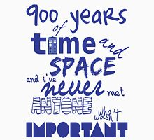 doctor who - 900 years of time and space Unisex T-Shirt