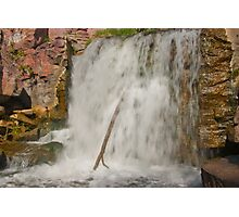 Pipestone Falls Photographic Print