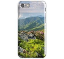 Roan Highlands Southern Appalachian Grassy Balds iPhone Case/Skin