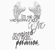 supernatural - castiel quote  One Piece - Short Sleeve