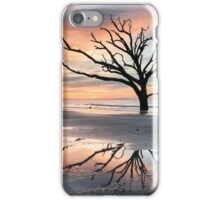 Charleston South Carolina Tree in the Surf Reflection iPhone Case/Skin