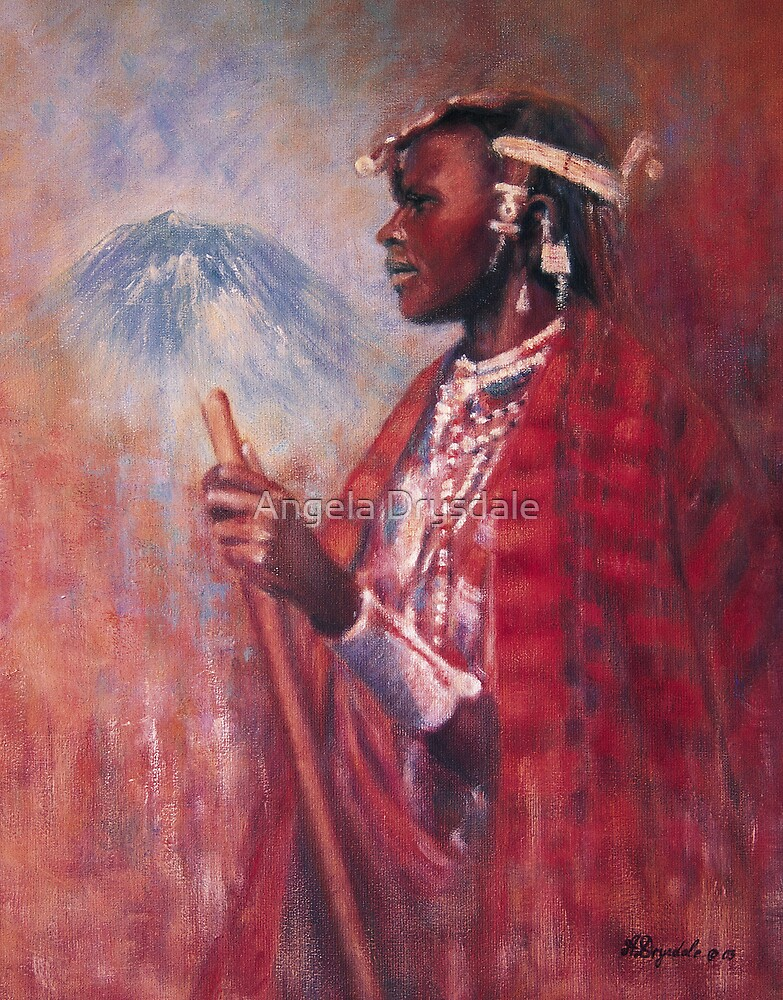 Lekoko and the mountain of God by Angela Drysdale