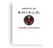 Agents of S.H.I.E.L.D. Hydra Division Canvas Print