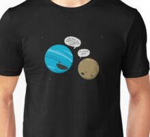 Pluto Getting the News Unisex T-Shirt