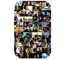 supernatural - destiel (dean/castiel) caps Photographic Print