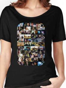 supernatural - destiel (dean/castiel) caps Women's Relaxed Fit T-Shirt