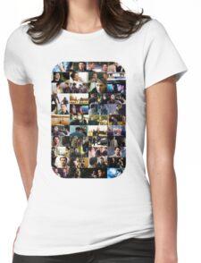 supernatural - destiel (dean/castiel) caps Womens Fitted T-Shirt