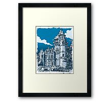 Old Castle in Belgium Framed Print