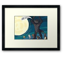 Were-critters Framed Print