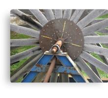 Big Wheel Not Turning Metal Print