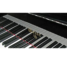 Grand Piano Reflections Photographic Print
