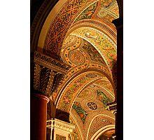 Mosaic Fantasy -- The Basilica, St. Louis, MO Photographic Print