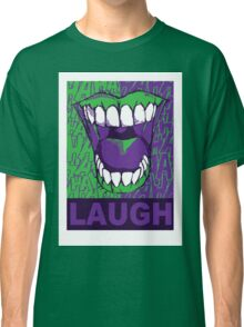 LAUGH purple Classic T-Shirt