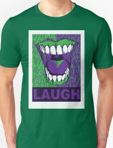 LAUGH purple T-Shirt