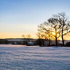 Winter Sunrise by Chris Charlesworth