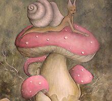 She-snail by Valeria  Franco