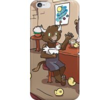 Harvest Pub Scene iPhone Case/Skin