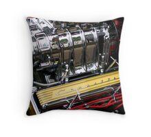 Corvette Engine Throw Pillow