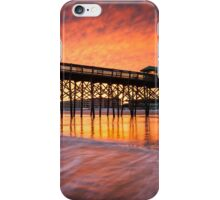 Charleston South Carolina Folly Beach Pier and Waterfront Development iPhone Case/Skin