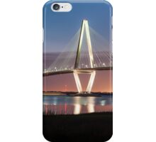 Charleston Arthur Ravenel Cooper River Bridge Sunset Landscape iPhone Case/Skin