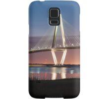 Charleston Arthur Ravenel Cooper River Bridge Sunset Landscape Samsung Galaxy Case/Skin