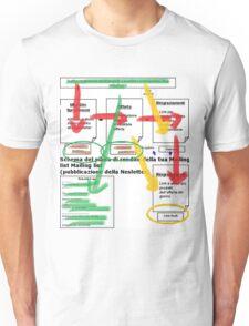 Flow Chart Unisex T-Shirt